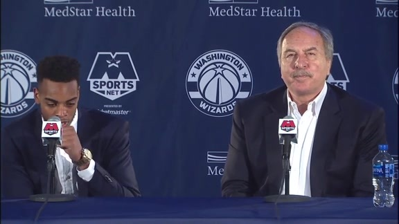 Troy Brown Jr. Introductory Press Conference