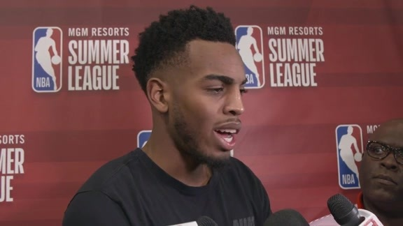 Troy Brown Jr. Postgame - 7/6/18