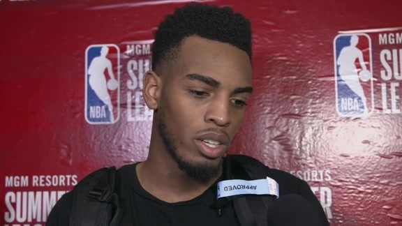 Troy Brown Jr., Devin Robinson Postgame - 7/8/18