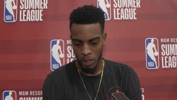 Troy Brown Jr. Postgame - 7/13/18