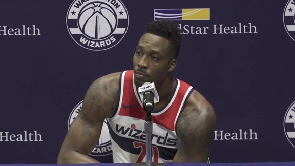 Dwight Howard Media Day - 9/24/18