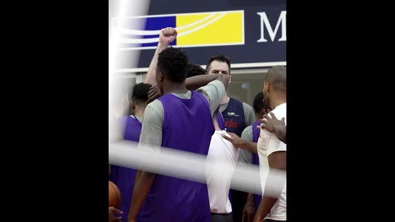 John Wall Mic'd Up: #WizCamp Day 1