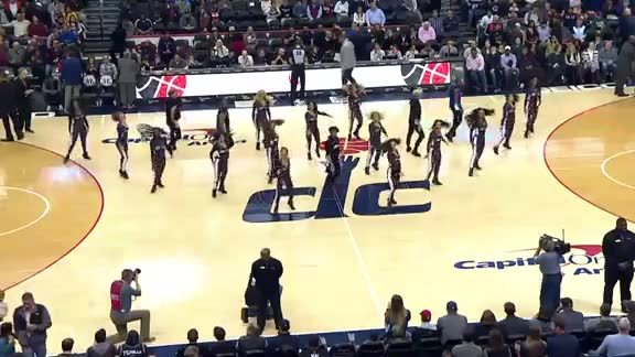 Wizards Dancers - 11/16/18