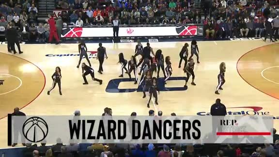 Wizards Dancers - 11/24/18