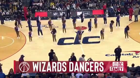 Wizards Dancers 2 - 11/26/18