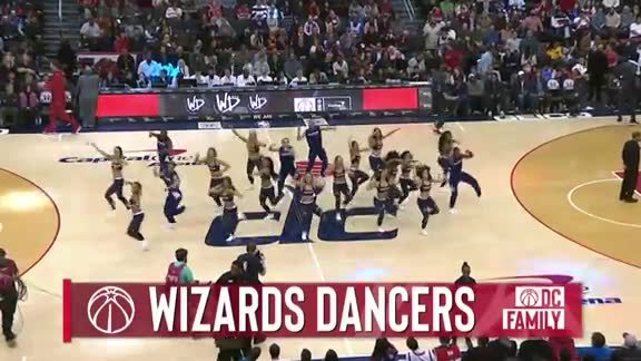 Wizards Dancers - 12/1/18