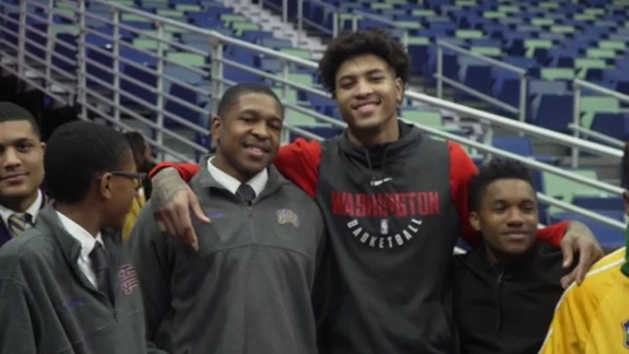 Kelly Oubre Jr. New Orleans Scholarships 2018