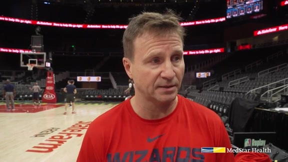 Scott Brooks Shootaround - 12/5/18