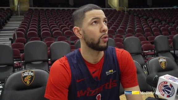 Austin Rivers Shootaround - 12/8/18