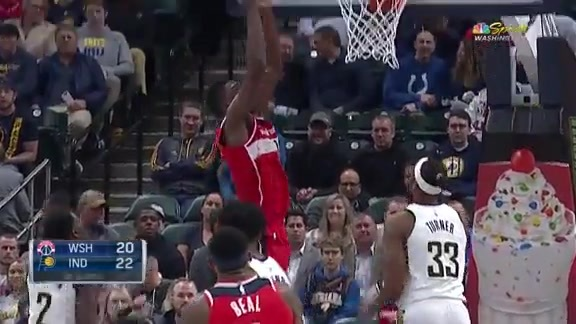 Highlights: Wizards vs. Pacers - 12/10/18