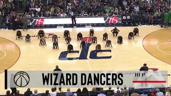 Wizards Dancers 2 - 12/12/18