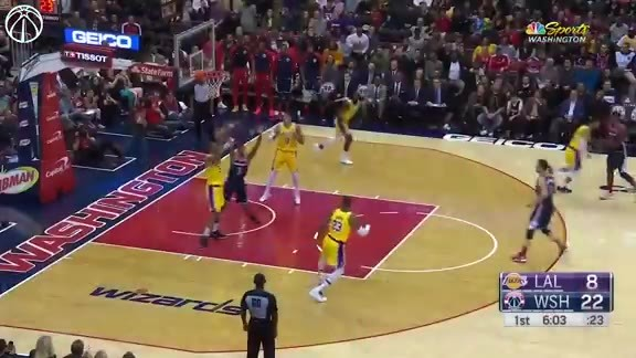 Highlights: Wizards vs. Lakers - 12/16/18