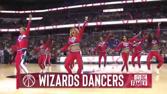 Wizards Dancers - 12/16/18