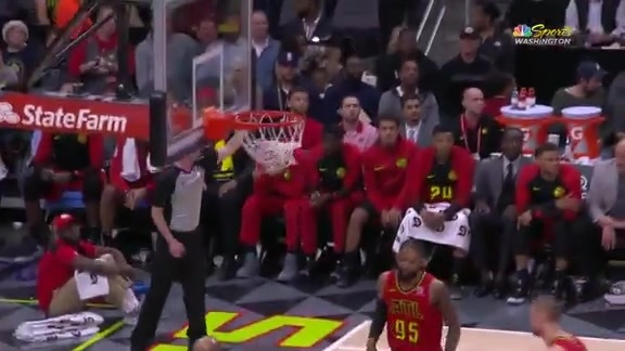 Highlights: Wizards vs. Hawks - 12/18/18