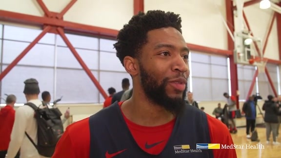 Chasson Randle Shootaround - 1/8/19