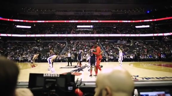 Sights and Sounds: Wizards vs. 76ers - 1/9/19