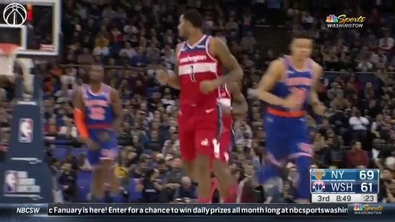 Highlights: Wizards vs. Knicks - 1/17/19