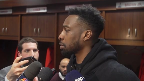 Wizards Postgame Locker Room - 1/21/19