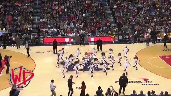 Wizards Dancers - 2/1/19