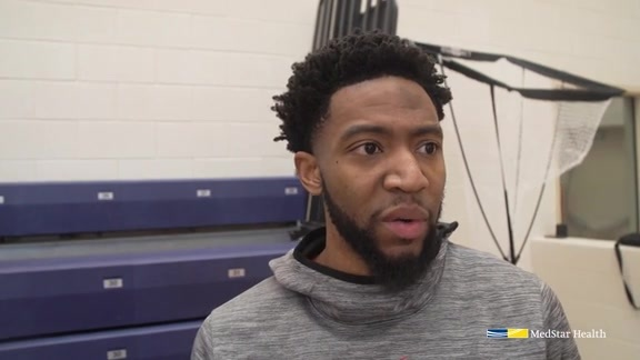 Chasson Randle Shootaround - 2/11/19