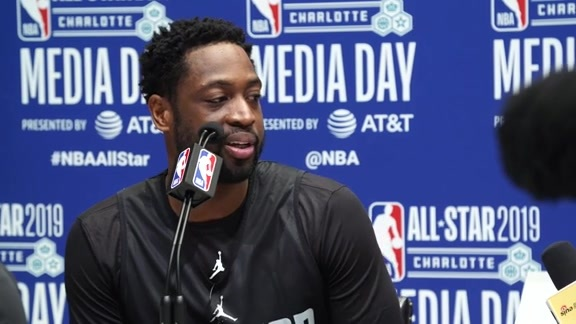 NBA All-Stars Media Availability