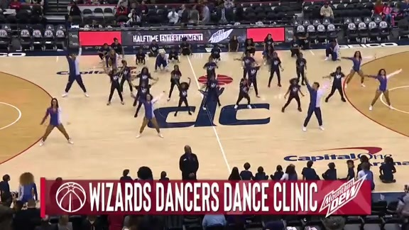 Wizards Dance Clinic Halftime - 3/3/19