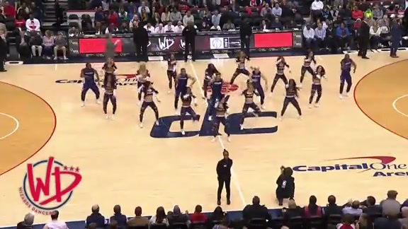 Wizards Dancers 2 - 3/11/19