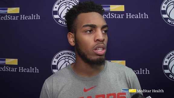 Troy Brown Jr. Exit Interview 2018-19