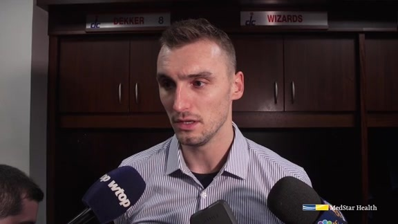 Sam Dekker Exit Interview 2018-19
