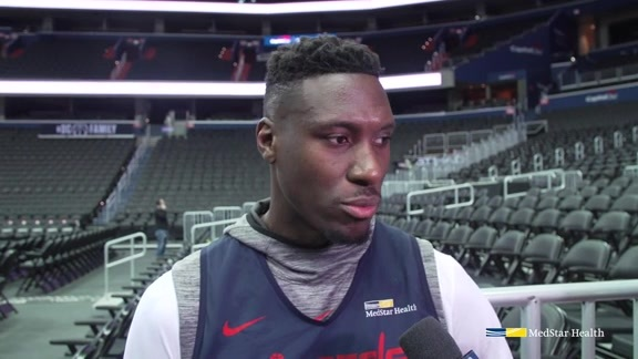 Ian Mahinmi Exit Interview 2018-19