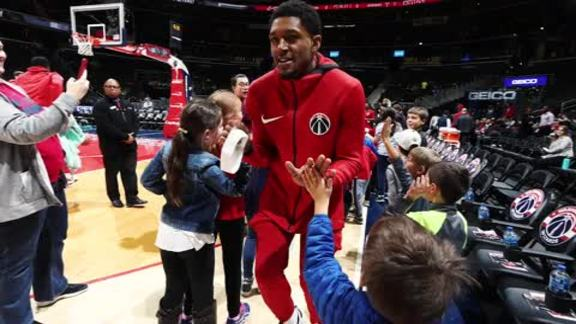 Bradley Beal NBA Community Assist 2019