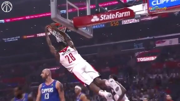 Ian Mahinmi Highlights 2018-19