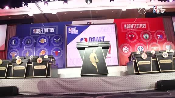 NBA Draft Lottery Behind the Scenes