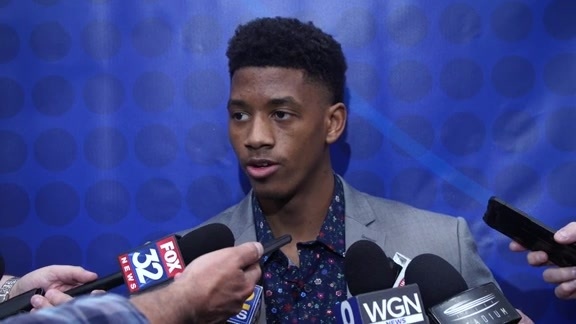 Jarrett Culver NBA Draft Combine Interview - 5/16/19