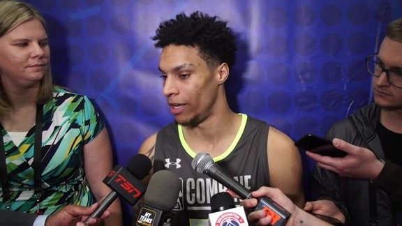 Brandon Clarke NBA Draft Combine Interview - 5/16/19