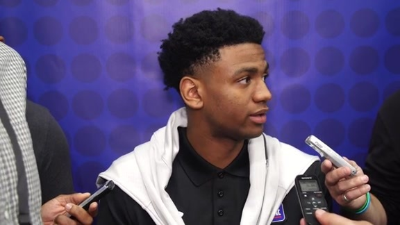 Nickeil Alexander-Walker NBA Draft Combine Interview - 5/16/19