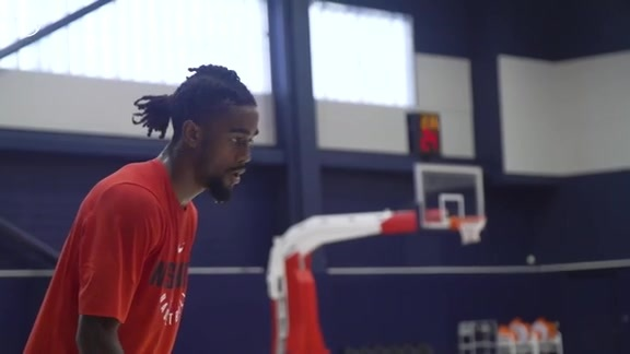 Jordan Bone Wizards Draft Workout Behind the Scenes