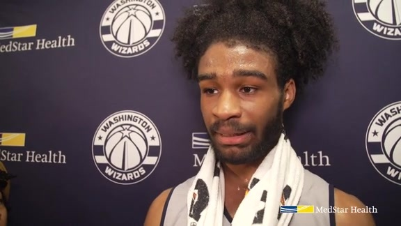 Coby White Wizards Draft Workout Media Availability - 6/17/19