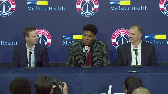 Rui Hachimura Introductory Press Conference