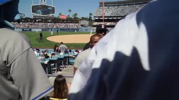NBA Awards - Dodgers Game