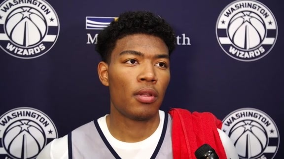 Rui Hachimura Mini Camp Media Availability - 6/25/19