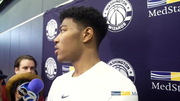 Rui Hachimura Mini Camp Media Availability - 6/27/19