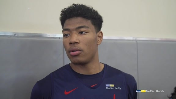 Rui Hachimura Media Availability - 7/5/19