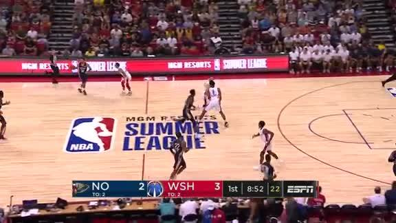 Hachimura's First NBA Basket
