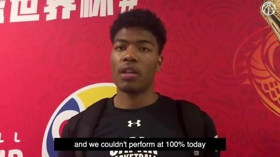 Rui Hachimura Postgame Interview vs. Turkey - 9/1/19