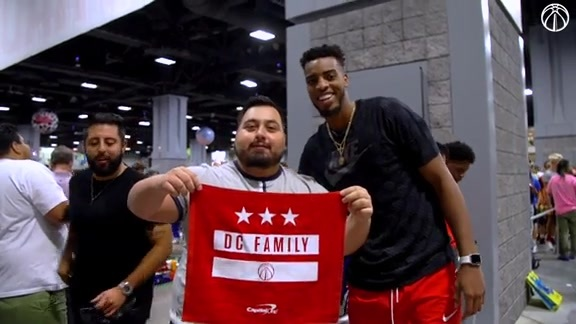 Troy Brown Jr. at Sneaker Con D.C. - 9/7/19