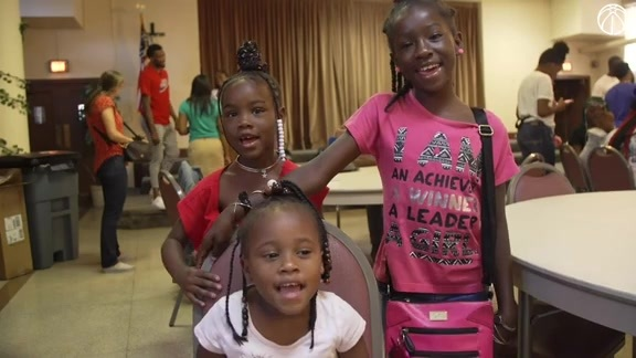 Jordan McRae Back-to-School Giveaway at Southeast Family Center - 9/7/19