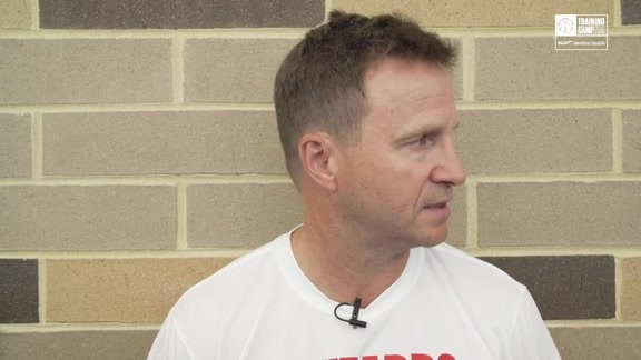 Scott Brooks on Wizards Takeover at Ballou High School - 10/4/19