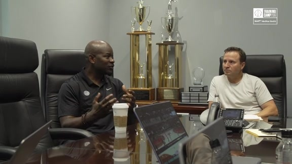 Inside Look: Wizards Coaches Meeting at Training Camp