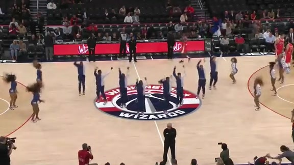 Wizards Dancers 1st Half - 10/9/19